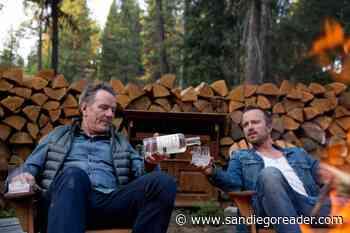 Mezcal Tasting With Aaron Paul and Bryan Cranston - San Diego Reader