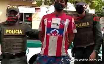 No tiene perdón de Dios: Capturado 'Chibolo' por robar en una iglesia con un hacha [VIDEO] - Extra Boyacá