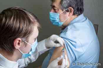 En Itagüí ya inició la vacunación de los adultos entre los 60 y los 79 años - Itagüí Hoy