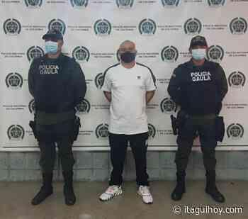 """Cayó alias """"Corozo"""", segundo cabecilla del grupo delincuencial """"El Ajizal"""" - Itagüí Hoy"""