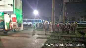 VIDAS OBRERAS EN RIESGO. Dos trabajadores del ferrocarril se electrocutaron en Llavallol mientras trabajaban - La Izquierda Diario