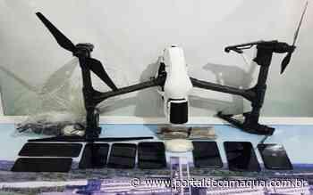 Drone é abatido na Penitenciária de Alta Segurança de Charqueadas - Portal de Camaquã