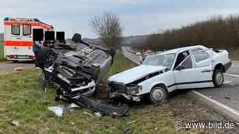 Bad Sobernheim: Benz gegen Benz: 3 Verletzte bei Frontal-Unfall - BILD