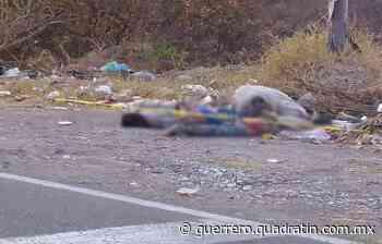 Dejan a 2 asesinados a balazos a orilla de la Chilpancingo-Tixtla - Quadratin Guerrero
