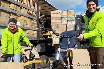 Hilfsgüter aus Hainichen in Litauen angekommen - Freie Presse