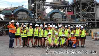 MMG Dugald River hosts group of Cloncurry schoolgirls - The North West Star