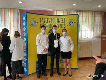 La Guerche-de-Bretagne : trois élèves du lycée hôtelier remportent un concours prestigieux - actu.fr