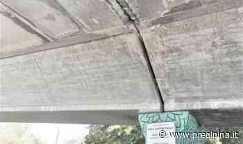 Sesto Calende: dal cavalcavia cadono pezzi di cemento - La Prealpina