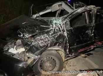 Acidente Teixeira de Freitas: Dois morrem e outros 2 ficam feridos em capotamento na BA-290 - Rahiana