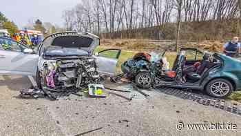 Unfall auf Straße in Schwaigern: Schwangere überholt in Kurve Laster - BILD