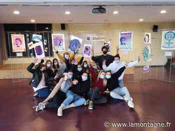 Des élèves de Louis-Mallet à Saint-Flour (Cantal) ont réalisé leur propre expo sur le féminisme - La Montagne