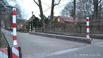 Brücke an der Wulfsmühle: Tangstedt will Bereich der Geschwindigkeitsbegrenzung reduzieren | shz.de - shz.de