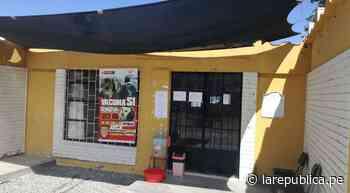 Arequipa: Puestos de salud permanecen cerrados en irrigaciones de Cocachacra   Estado de emergencia   lrsd - LaRepública.pe