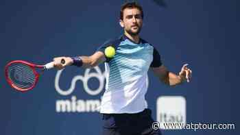 Marin Cilic Strikes Unique 'Overhead Drop Shot' In Miami Win - ATP Tour