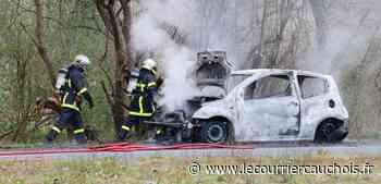 Notre-Dame-de-Gravenchon. Une voiture s'enflamme en roulant : le conducteur s'échappe in extremis - Le Courrier Cauchois