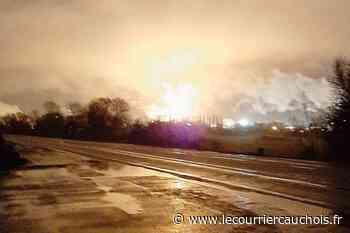 Notre-Dame-de-Gravenchon. Le redémarrage d'unités chez ExxonMobil explique les lueurs dans le ciel - Le Courrier Cauchois