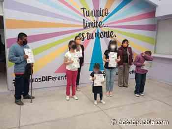 Con actas de nacimiento en Braille, SEDIF acerca servicios en Guadalupe Victoria - desdepuebla.com - DesdePuebla