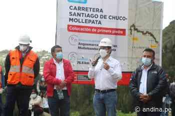 Asfaltado de la carretera Santiago de Chuco-Mollepata beneficiará a 50000 personas - Agencia Andina