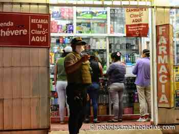 Establecimientos comerciales en Tambopata deben cerrar 3 horas antes del toque de queda - Radio Madre de Dios