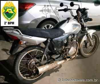 Preso por furto de moto em Ibaiti – Tribuna do Vale - Tribuna do Vale