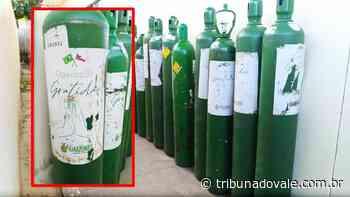 Ibaiti recebe 20 cilindros de oxigênio da SESA – Tribuna do Vale - Tribuna do Vale