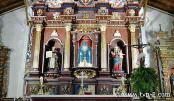 Inauguran obras restauradas de la iglesia colonial de Parita - TVN Noticias