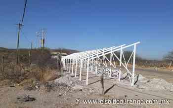 Instalarán sistema solar fotovoltaico en poblado de San Juan del Rio, Durango - El Sol de Durango