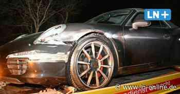 A 1: Porsche rast bei Reinfeld in die Leitplanke - Lübecker Nachrichten