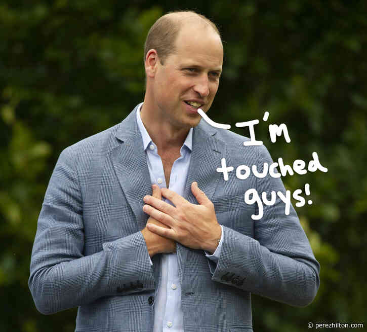 The Internet Loses It After Prince William Is Named 'World's Sexiest Bald Man'!