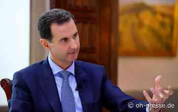 Syriens Präsident Baschar al-Assad hat Corona - Dennis Angenendt