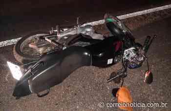Motociclista morre e esposa fica ferida em colisão em Santana do Ipanema - Correio Notícia