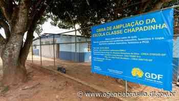 Assinada a ampliação da Escola Classe Chapadinha - Agência Brasília
