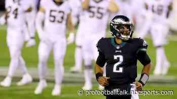 Report: No consensus in Eagles' building regarding Jalen Hurts