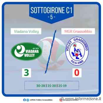 #SerieB: l'MGR Grassobbio chiude l'andata con un ko con Viadana - informazione.it