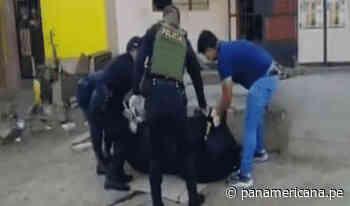 Huaura: presunto extorsionador falleció cuando colocaba explosivo en la puerta de un negocio   Panamericana TV - Panamericana Televisión