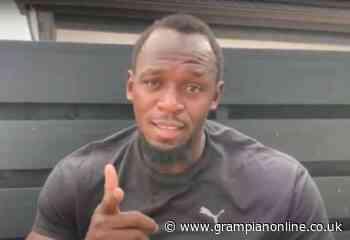 Believe in yourself, top sprinter Usain Bolt tells pupils at rural Moray school - Grampian Online