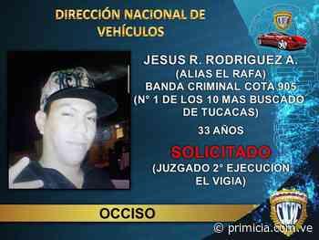 Abatidos dos delincuentes de la Cota 905 en Tucacas - Diario Primicia - primicia.com.ve