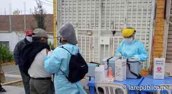 Priorizan a Trujillo y Ascope para vacunación de adultos mayores - LaRepública.pe
