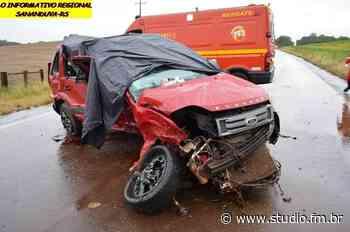 Morre a quarta vítima de grave acidente entre Lagoa Vermelha e Sananduva; criança não resistiu aos ferimentos - Rádio Studio 87.7 FM | Studio TV | Veranópolis