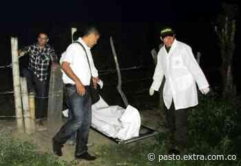 En el municipio de Tangua-Nariño, a bala asesinaron a mayordomo - Extra Pasto