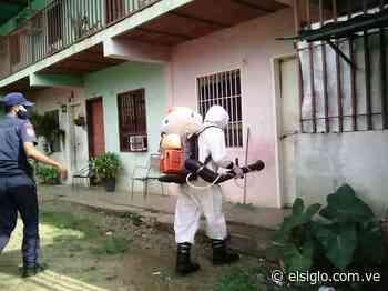 Alcaldía de Camatagua intensifica jornadas de desinfección - Diario El Siglo