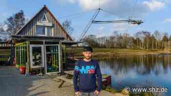 Wasserski-Anlage Jagel: Genervt vom Corona-Lockdown: Nick Lutkat will wieder aufs Wasser | shz.de - shz.de