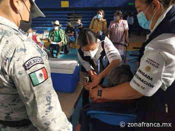 Fluye aplicación de vacunas contra COVID-19 en Salvatierra y Tarimoro - Zona Franca