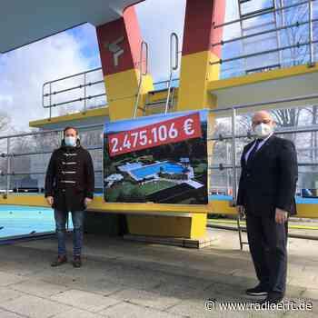 Elsdorf: 2,5 Million Euro für Sanierung des Freibads - radioerft.de
