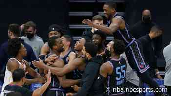 Watch Harrison Barnes' improbable three-point game-winner for Kings