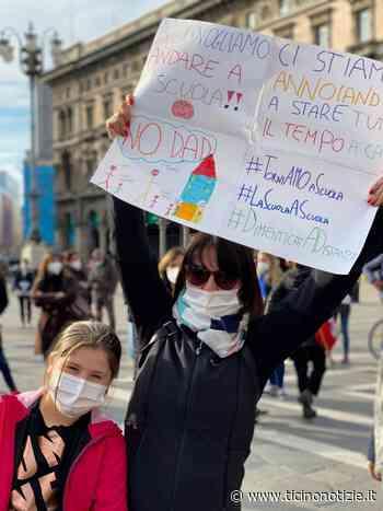 """Lungo """"l'asse"""" Arluno-Milano l'Associazione Genitori non molla la presa: 'BASTA Dad, vogliamo le scuole aperte' - Ticino Notizie"""