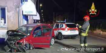 Lonigo: incidente stradale tra due autovetture, un ferito - Vicenzareport