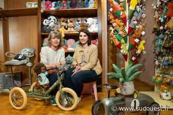Orthez : La saga familiale continue avec la nouvelle boutique Une poule sur un mur… - Sud Ouest