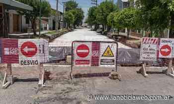 San Isidro: Sigue la renovación de pavimentos en Villa Adelina y Boulogne - lanoticiaweb.com.ar
