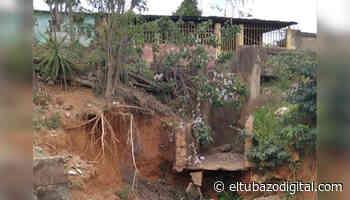 EPA ALCALDESA / Estas viviendas de Zaraza están en riesgo de derrumbarse - El Tubazo Digital